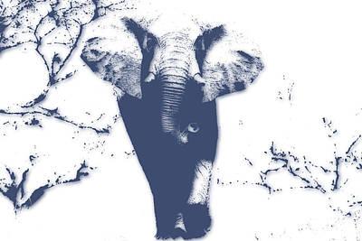 Elephant 3 Art Print
