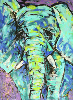 Elephant Original by Arrin Burgand