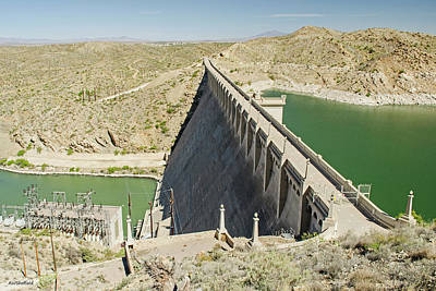 Photograph - Elephant Butte Dam by Allen Sheffield