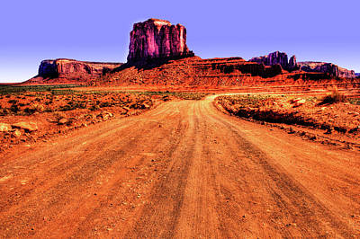 Photograph - Elephant Butte Monument Valley Navajo Tribal Park by Roger Passman
