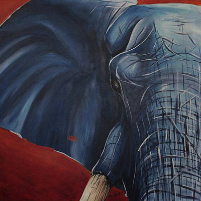 Modern Man Music - Elephant in Blue by Neil Assenheimer