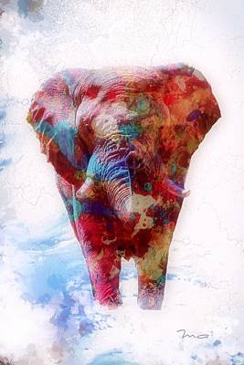 Elephant In The Room Digital Art - Elephant In The Room by Mark Taylor