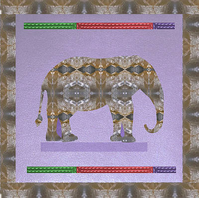 Everett Collection - Elephant made of Crystal Stone Healing RareEarth material photography by Navin Joshi