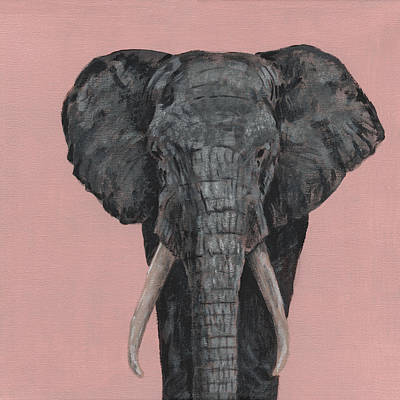 Painting - Elephant by Masha Batkova