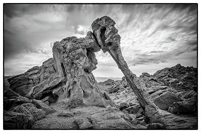 Elephant Rock, Valley Of Fire Art Print