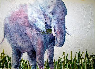 Elephant Sanctuary Art Print