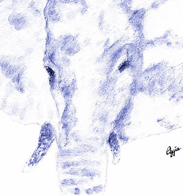 Painting - Elephant Strong by Stephanie Agliano