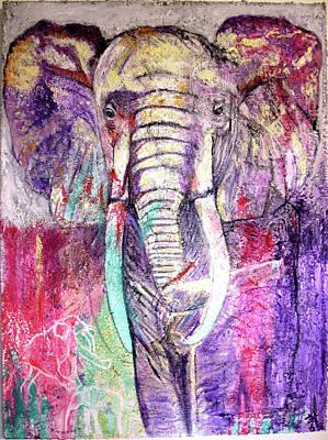 Elephant Original by Toni Willey
