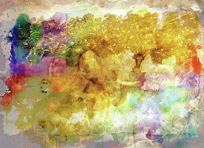 Mixed Media - Elephant Vision by Dorothy Berry-Lound