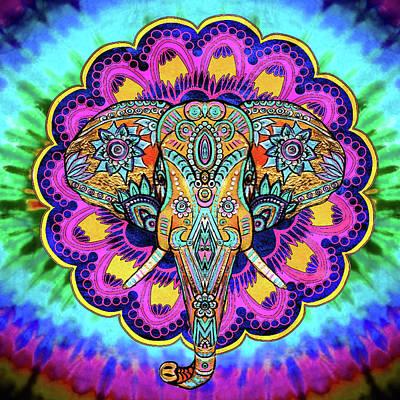 Elephant Wall Hanging Art Print