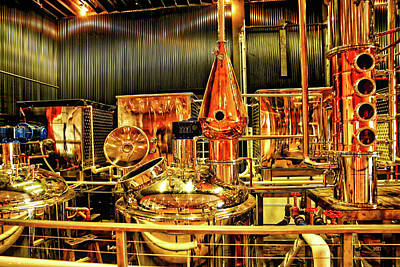 Photograph - Elevated Mountain Distillery by Dennis Baswell