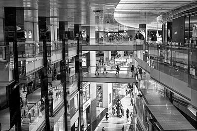 Photograph - Elevated Shopping by Cornelis Verwaal