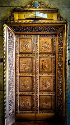Elevator Masterpiece Art Print by Carlos Ruiz