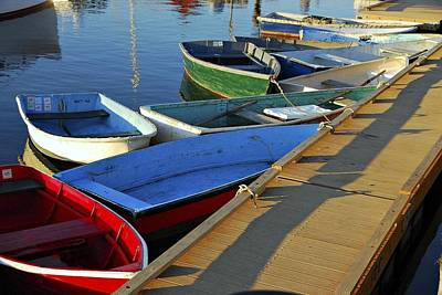 Photograph - Eleven Dinghies by AnnaJanessa PhotoArt