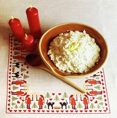 Porridge Photograph - Elf Porridge by Kim Lessel