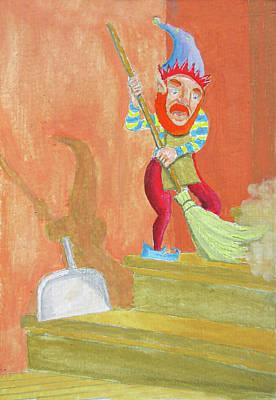 Elf Sanitation Original by Gordon Wendling