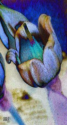 Elfin Blue Art Print by Michele Caporaso