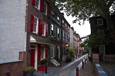 Elfreths Alley Photograph - Elfreth's Alley by Bill Cannon