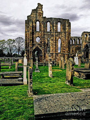 Photograph - Elgin Cathedral by Paul Mashburn