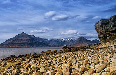 Photograph - Elgol Beach And The Cuillin Hills by Jacqi Elmslie