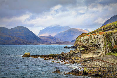 Photograph - Elgol Beach #h4 by Leif Sohlman