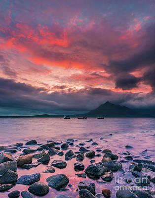 Elgol Photograph - Elgol Beach, Isle Of Skye, Scotland by Henk Meijer Photography