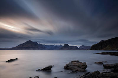 Abstract Sailboats - Elgol Isle of Skye by Grant Glendinning