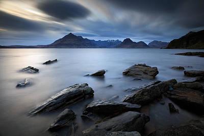 Photograph - Elgol Rocky Shore by Grant Glendinning