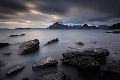 Photograph - Big Rocks On Elgol by Grant Glendinning