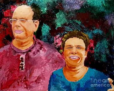 Fashion Paintings Rights Managed Images - Eli and Ruchama Royalty-Free Image by Eli Gross