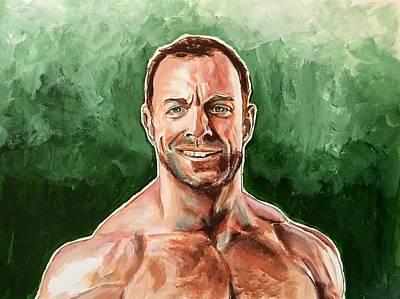 Painting - Eli Drake by Joel Tesch