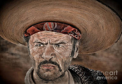 Eli Wallach As Tuco In The Good The Bad And The Ugly Version IIi Art Print