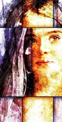 Beautiful Faces Digital Art - Eliannah by Gary Bodnar