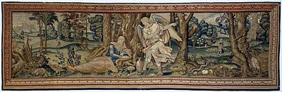 Tapestry - Textile - Elijah And The Angel by R Muirhead Art