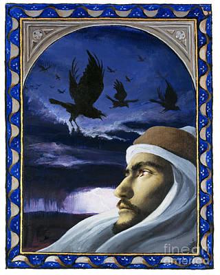 Painting - Elijah - Lgelj by Louis Glanzman