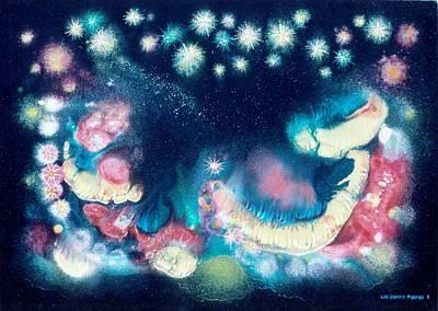 Elijah's Dream II Art Print by Lee Pantas