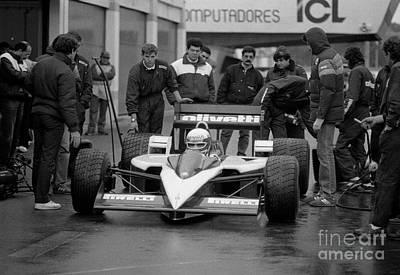 Photograph - Elio De Angelis. 1986 by Oleg Konin