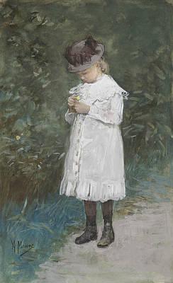 Elisabeth Mauve Print by Anton Mauve