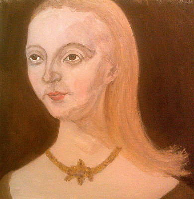 Painting - Elisabeth Woodville by Peter Gartner