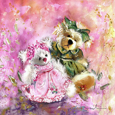 Painting - Elise And Eloise by Miki De Goodaboom