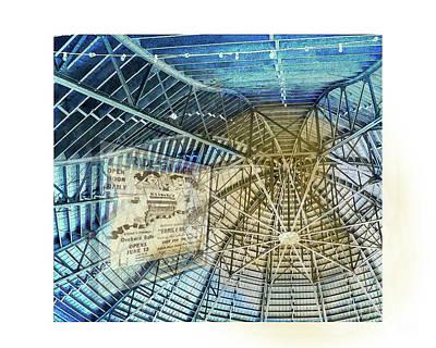 Elitch Pavilion Redo Art Print