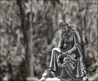 Photograph - Eliza Wilhelmina Beloved Wife In Sepia by Ginger Wakem