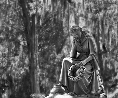 Photograph - Eliza Wilhelmina Black And White by Ginger Wakem
