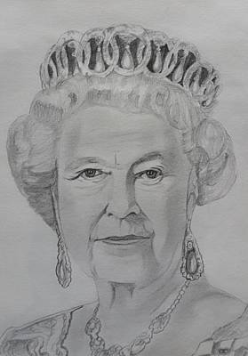 Elizabeth Alexandra Mary Original by Premnath Mohan