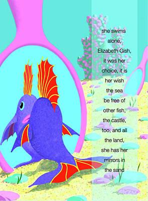 Digital Art - Elizabeth Gish by Tom Dickson