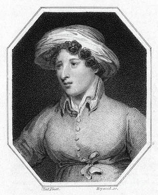Drawing - Elizabeth Hamilton  by Granger