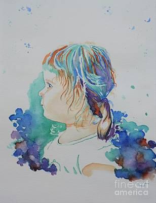 Elizabeth In Technicolor Original by Lise PICHE