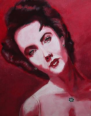 Elizabeth Taylor Mixed Media - Elizabeth Taylor by Aristotle Allen