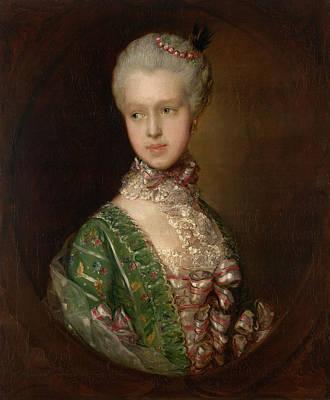 Royal Painting - Elizabeth Wrottesley, Later Duchess Of Grafton by Thomas Gainsborough