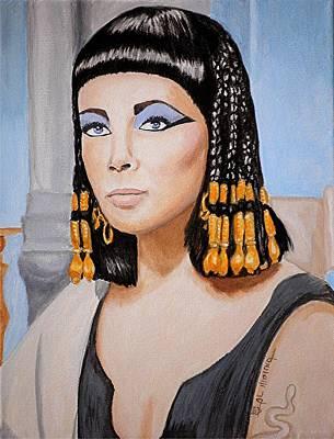Elizabeth Taylor Painting - Elizabeth's Cleopatra  by Al  Molina